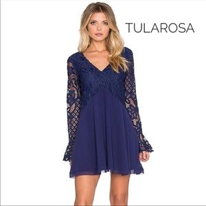 NEW! Tularosa Skylar Lace Navy Beautiful Dress